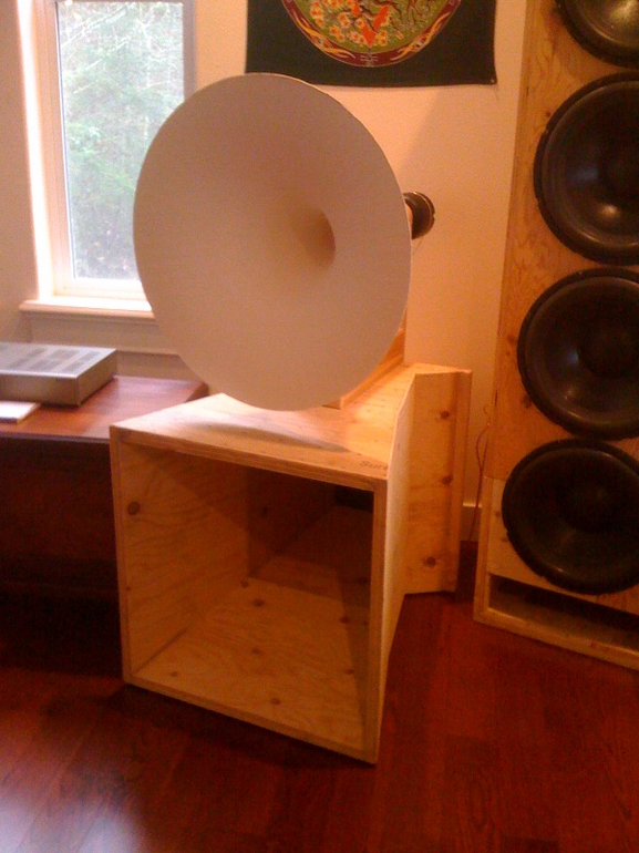 DIY 80hz midbass horn - The Paper Horn by Inlow Sound