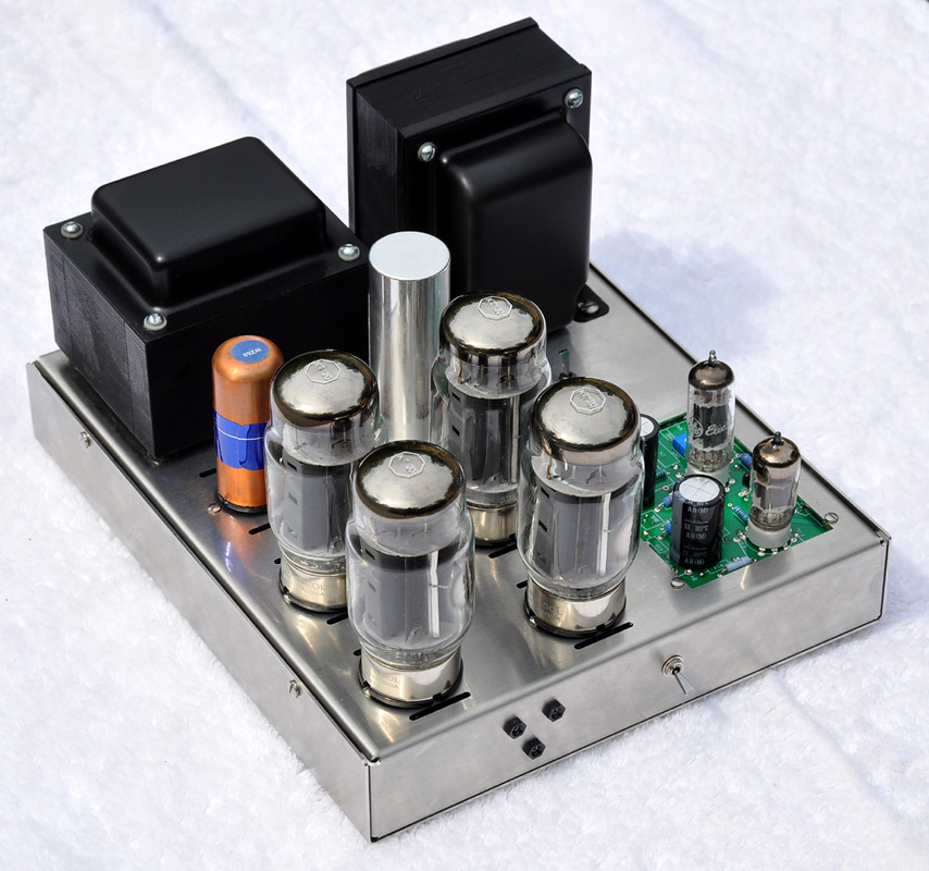 125 Watt Kt88 Tube Amplifier The Paper Horn By Inlow Sound